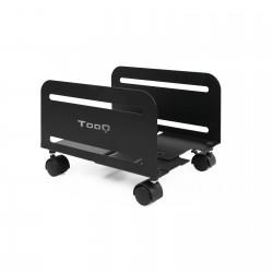 TooQ - Soporte metlico para CPU de suelo con ruedas