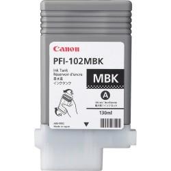 Canon - PFI-102MBK Original Negro mate