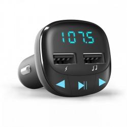 Energy Sistem - 44824 transmisor FM 875 - 108 MHz Encendedor de cigarrillos Negro