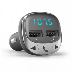 Energy Sistem - 44826 transmisor FM 875 - 108 MHz Bluetooth Negro Plata