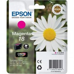 Epson - Daisy Cartucho 18 magenta - C13T18034010
