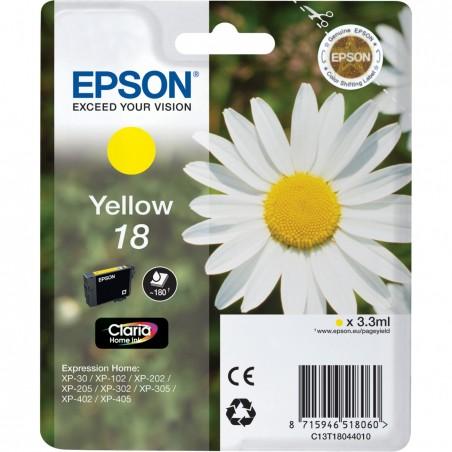 Epson - Daisy Cartucho 18 amarillo - C13T18044010