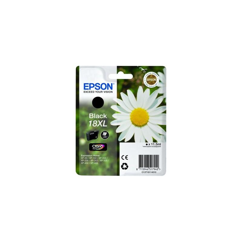 Epson - Daisy Cartucho 18XL negro - C13T18114010