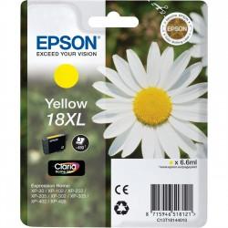 Epson - Daisy Cartucho 18XL amarillo - C13T18144010