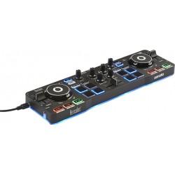 Hercules - Starlight controlador dj Negro CD scratcher 2 canales