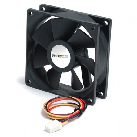 StarTechcom - FAN6X25TX3H ventilador de PC Carcasa del ordenador 6 cm 1 piezas Negro