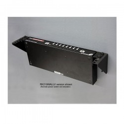 StarTechcom - Rack de Acero Vertical de Pared 3U 19in Pulgadas para Equipos Montaje Vertical
