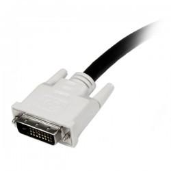StarTechcom - Cable de 1m DVI-D de Doble Enlace - Macho a Macho