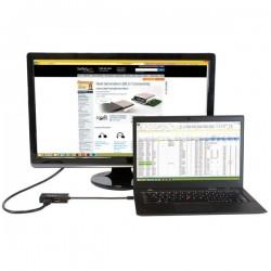 StarTechcom - Adaptador de vdeo externo triple head Mini DisplayPort a DVI HDMI y DP conversor