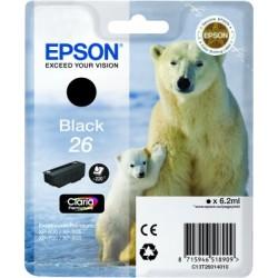 Epson - Polar bear Cartucho 26 negro - C13T26014010