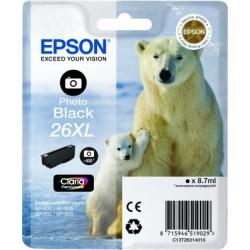 Epson - Polar bear Cartucho 26XL negro foto - C13T26314010