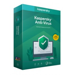 Kaspersky Lab - Anti-Virus 2020 Licencia bsica 1 aos - KL1171S5CFS-20