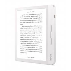 Rakuten Kobo - Libra H2O lectore de e-book Pantalla tctil 8 GB Wifi Blanco
