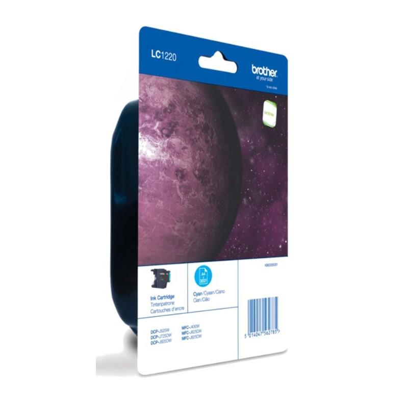 Brother - LC-1220CBP cartucho de tinta Original Azul 1 piezas