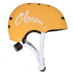 OLSSON and Brothers - S02CM0023 casco para bicicleta Casco clsico Casco para bicicleta urbana S/M Naranja