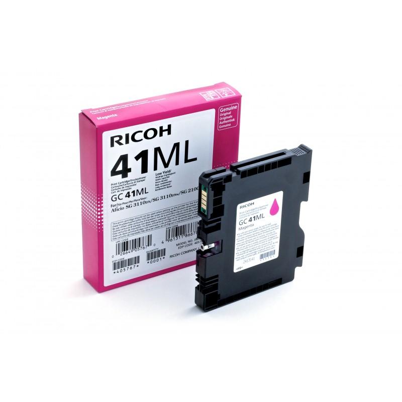 Ricoh - 405767 cartucho de tinta Original Magenta 1 piezas