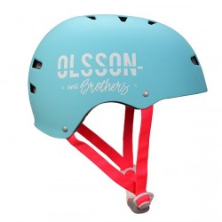 OLSSON and Brothers - S02CM0029 casco para bicicleta Casco clsico Casco para bicicleta urbana S/M Turquesa