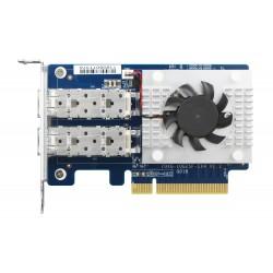 QNAP - QXG-10G2SF-CX4 adaptador y tarjeta de red Interno Ethernet 1000 Mbit/s