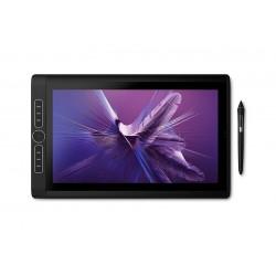 Wacom - MobileStudio Pro DTHW1621HK0B tableta digitalizadora Negro 5080 lneas por pulgada 346 x 194 mm USB/Bluetooth