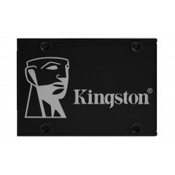 Kingston Technology - KC600 25 256 GB Serial ATA III 3D TLC - SKC600B/256G