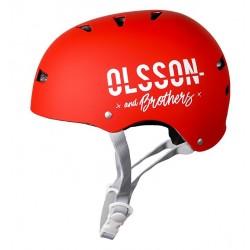 OLSSON and Brothers - S02CM0027 casco para bicicleta Casco clsico Casco para bicicleta urbana S/M Rojo