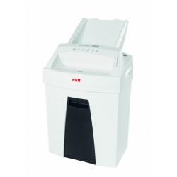 HSM - Securio AF100 triturador de papel Corte en partculas 60 dB 225 cm Negro Blanco