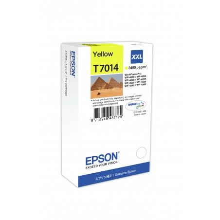Epson - Cartucho T70144010 amarillo XXL
