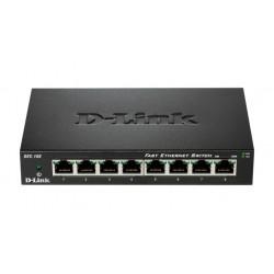D-Link - DES-108 switch No administrado Fast Ethernet 10/100 Negro