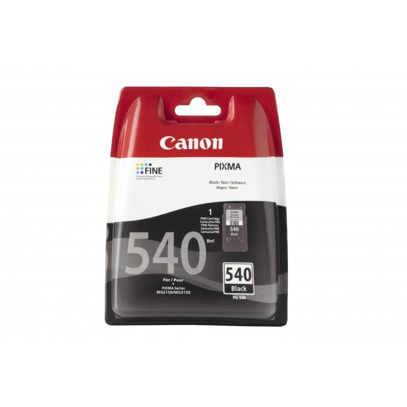 Canon - PG-540 w/sec Original Negro 1 piezas