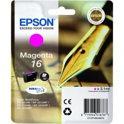 Epson - Pen and crossword Cartucho 16 magenta - C13T16234010