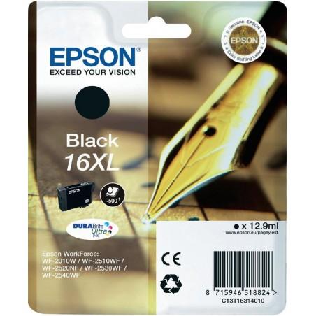 Epson - Pen and crossword Cartucho 16XL negro - C13T16314010