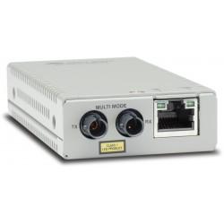 Allied Telesis - AT-MMC200/ST-60 convertidor de medio 100 Mbit/s 1310 nm Multimodo Plata