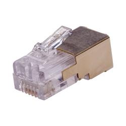 Axis - 01182-001 conector RJ-12 Oro Blanco