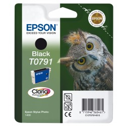 Epson - Owl Cartucho T0791 negro