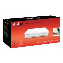 D-Link - GO-SW-8G switch No administrado Blanco