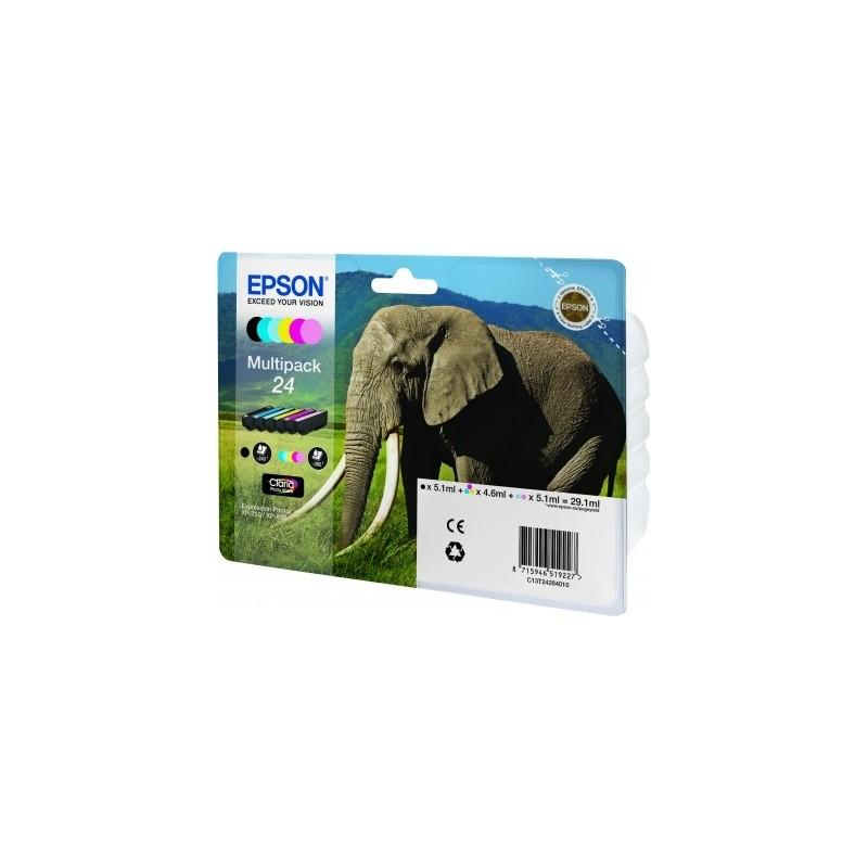 Epson - Elephant Multipack 24 6 colores