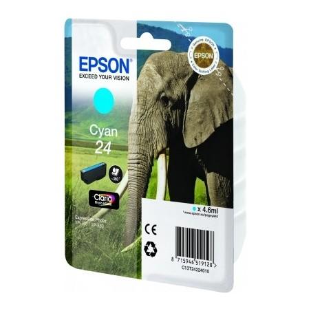 Epson - Elephant Cartucho 24 cian