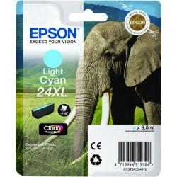 Epson - Elephant Cartucho 24XL cian claro