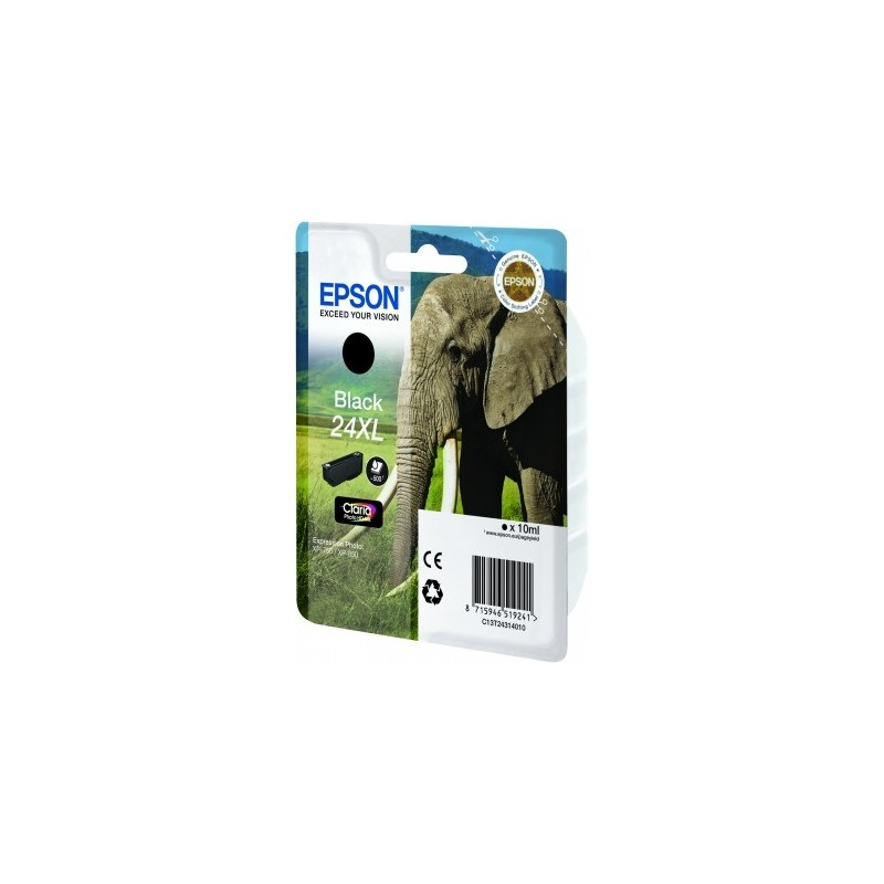 Epson - Elephant Cartucho 24XL negro - C13T24314010
