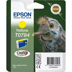 Epson - Owl Cartucho T0794 amarillo