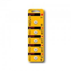 Kodak - KDCR20325 pila domstica Batera de un solo uso CR2016 Zinc-Manganese Dioxide Zn/MnO2