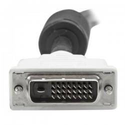 StarTechcom - Cable de 2m DVI-D de Doble Enlace - Macho a Macho