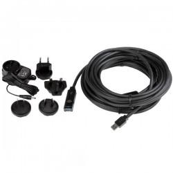 StarTechcom - Cable Extensor Alargador USB 30 SuperSpeed Activo de 10m - USB A Macho a Hembra - Negro