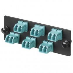 Panduit - FAP6WBUDLCZ adaptador de fibra ptica LC Azul 1 piezas