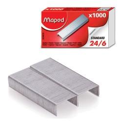 Maped - 324405 grapa Paquete de grapas 1000 grapas
