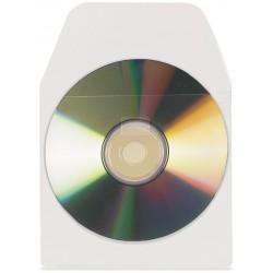3L - 6832-100 funda para discos pticos 100 discos Transparente