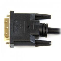 StarTechcom - Cable HDMI a DVI 1m - DVI-D Macho - HDMI Macho - Adaptador - Negro