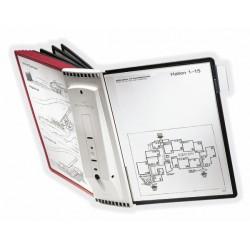 Durable - 5631-00 soporte para mostrar documentos Pared Retrato A4