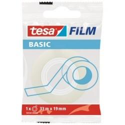 TESA - Basic 33 m Transparente 1 piezas