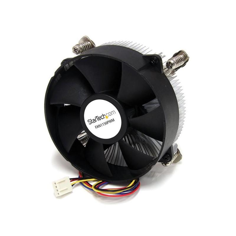 StarTechcom - Ventilador Fan con Disipador de Calor CPU Procesador Socket LGA1156/1155 Intel - 95mm - PWN